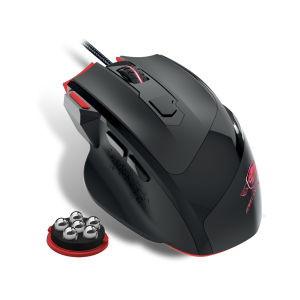 Mouse Gaming Spirit of Gamer Pro-M3 Gaming 3200DPi Optic 7 Butoane Rosu