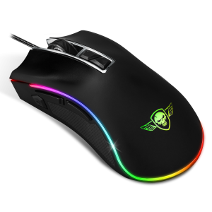 Mouse Spirit of Gamer RGB Gaming S-PM6 4800DPi Optic 8 Butoane Multicolor