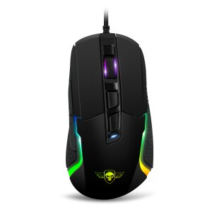 Mouse Gaming Spirit of Gamer Pro-M7 Gaming RGB 4800DPi Optic 7 Butoane Negru
