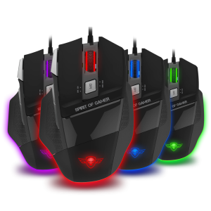 Mouse Spirit of Gamer Pro-M8 Light Edition 3500DPi Optic 7 Butoane Multicolor