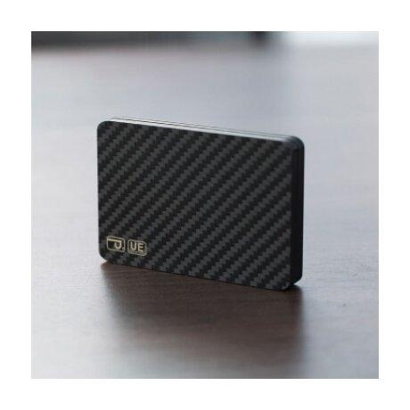 Portofel Magnetic Pitaka MagEZ Modular Fibra Negru