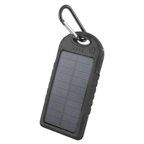 Power Bank Solar 5000 mAh STB-200, Negru
