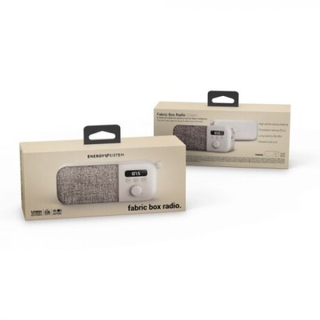 Radio FM Energy Fabric Box 3W Jack 3.5mm Nude
