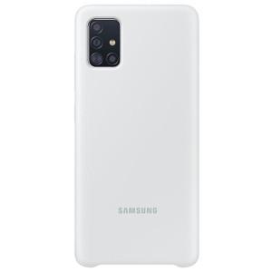Samsung Husa Originala Samsung Galaxy A51 Silicon Cover Alb