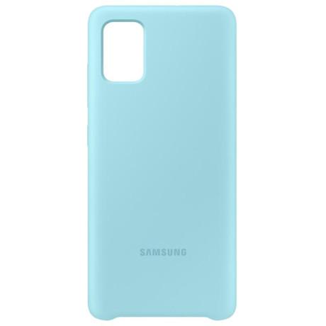 Samsung Husa Originala pt. Galaxy A51 Silicon Cover Albastru