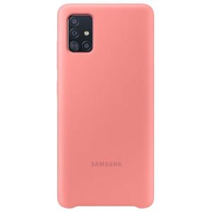 Samsung Husa Originala  Galaxy A51 Silicon Cover Roz