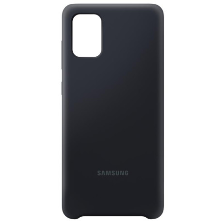 Samsung Husa Originala  Galaxy A71 Silicon Cover Negru