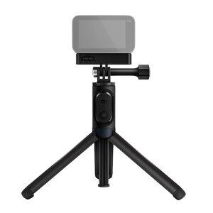 Selfie Stick Xiaomi cu Trepied si Declansator Bluetooth Negru