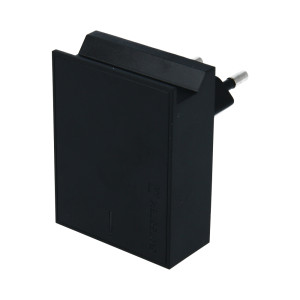 Set Incarcator Retea Swissten Smart IC 2xUSB 3A+Cablu Date Type C 1.2m Negru