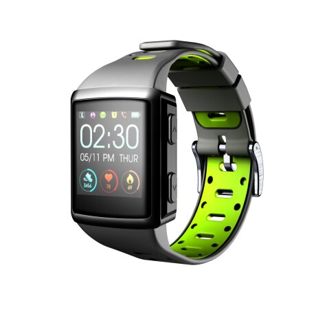 SmartWatch cu Gps Cellularline Easysport, Negru