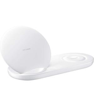 Incarcator Wireless Samsung Charger Duo QC 3.0 Alb EP-N6100TWEGWW