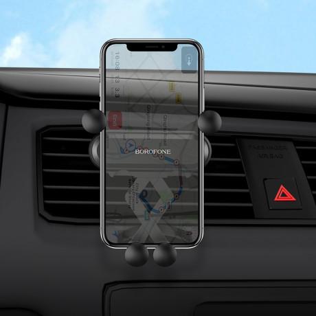 Suport Auto Borofone BH19 Air Vent Gravity Negru