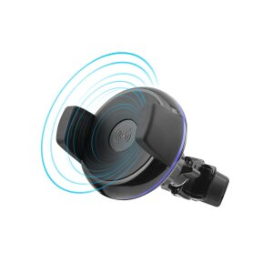 Suport Auto Fonex Wireless 5W Negru