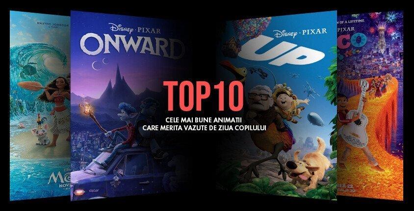 Top 10 cele mai bune animatii care merita vazute de Ziua Copilului