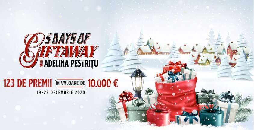 Regulamentul oficial al campaniei ,,5 DAYS OF GIFTAWAY WITH ADELINA PESTRITU''